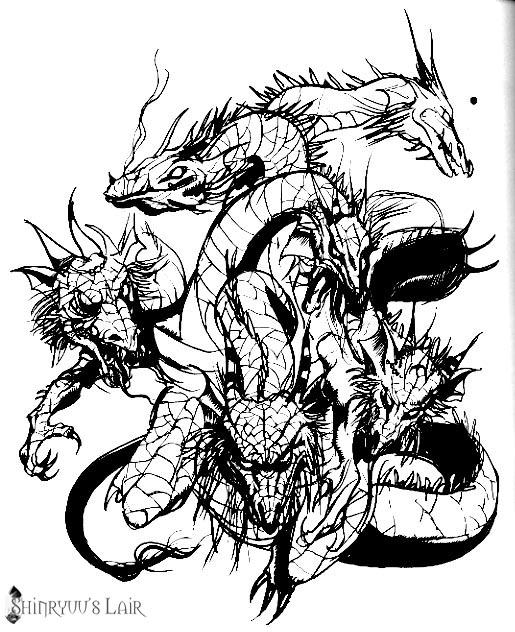 Final Fantasy Monsters Tiamat