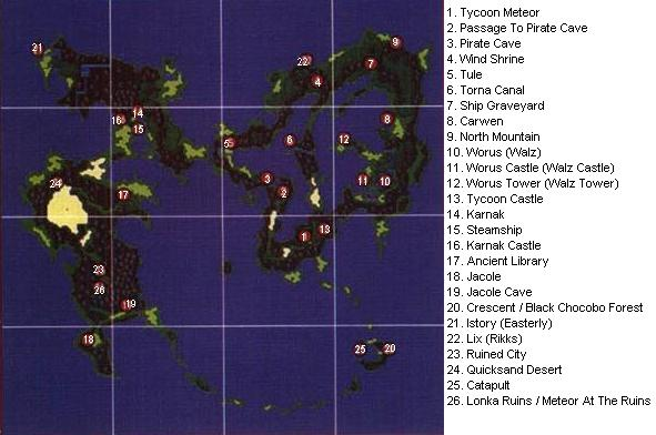 Game help ff5 first world map gumiabroncs Choice Image